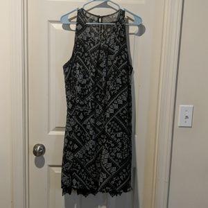 Pretty flowy dress.